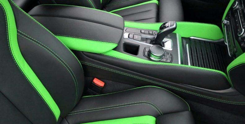 аквапечать зеленый карбон BMW X5M 2017