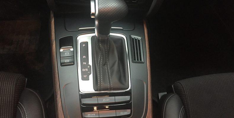 Audi A4 2015 аквапринт салона под матовое дерево (2)