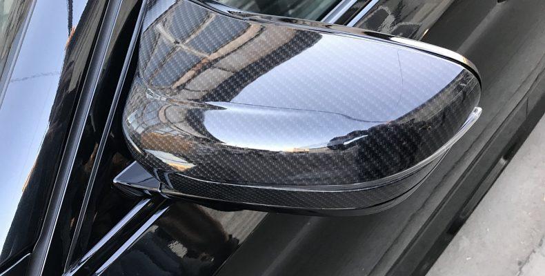 BMW G30 удаление хрома