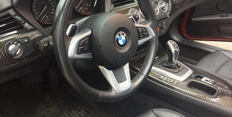 золотой карбон BMW Z4 2011
