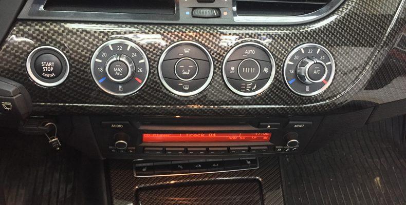 BMW Z4 2011 аквапринт
