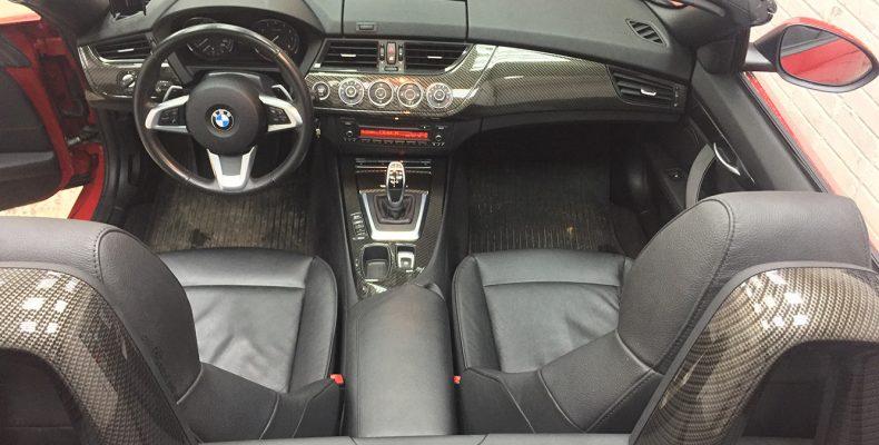 аквапечать салона авто BMW Z4 2011