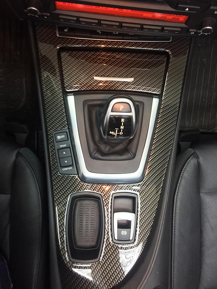аквапринт в золотой карбон BMW Z4 2011