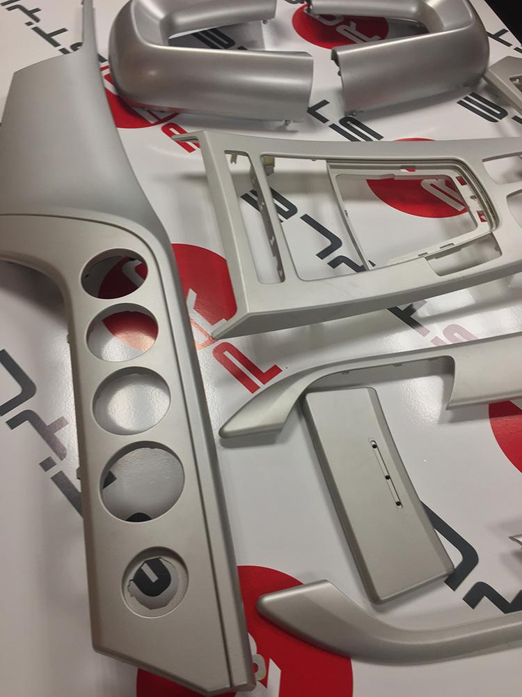 аквапринт салона BMW Z4 2011 под карбон