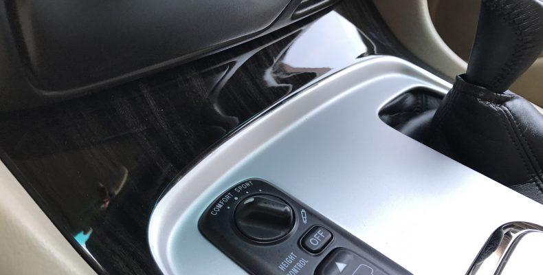аквапринт салона автомобиля Lexus LS470 2011