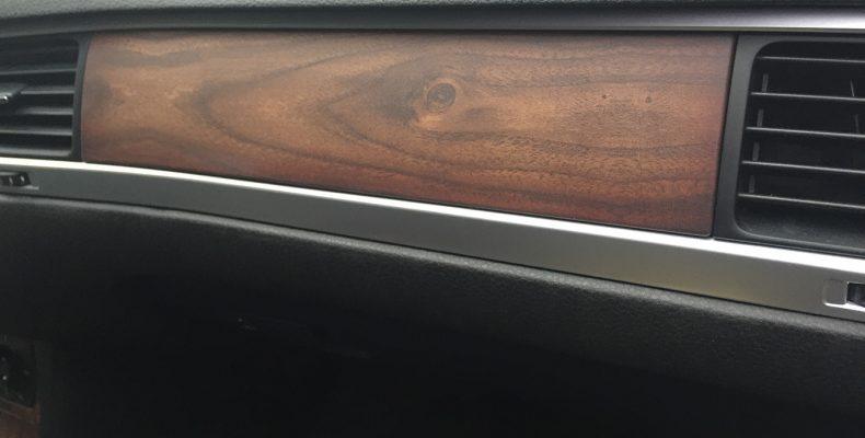 VW Touareg 2016 аквпринт салона под матовое дерево